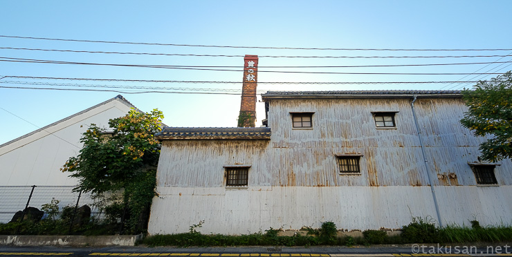 米田酒造株式会社の外観